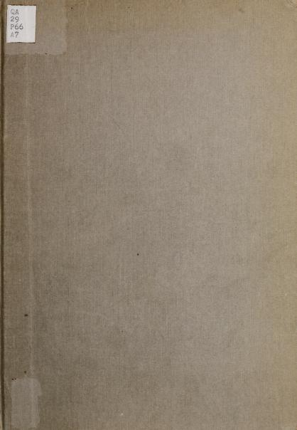 Benjamin Peirce, 1809-1880 by Raymond Clare Archibald